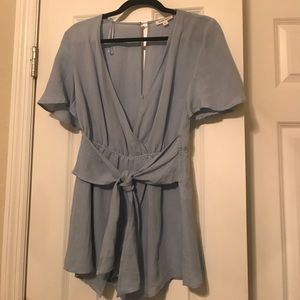 Light blue romper